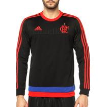 Blusa Moletom Flamengo Adidas Original