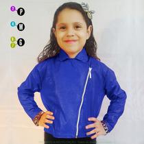 Jaqueta Infantil Feminina +barato Em Couro Sintético Brasil
