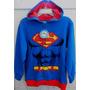 Casaco Moleton Superman Super Homem Wb Oficial Importado 10