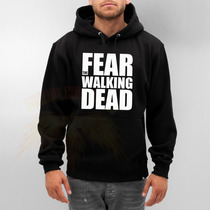 Blusa Fear The Walking Dead Moletom Canguru - Pronta Entrega