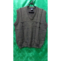 Pullover Colete Masculino De Lã Tm/ M