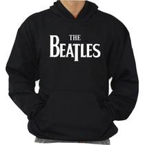 Blusa The Beatles Moleton Canguru