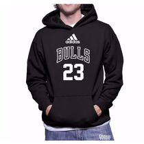 Blusa Moleton Chicago Bulls Nba Basquete Com Capuz