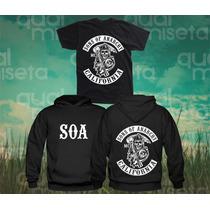 Canguru Sons Of Anarchy E Camiseta Frete Grátis Moleton