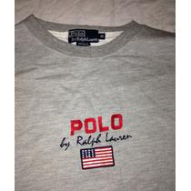Blusa Moletom Polo By Ralph Lauren Original Imp. Eua Gap Usa
