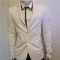 Blazer Casaco Forum Branco Slim Fit M- Osklen Ellus Sergio K