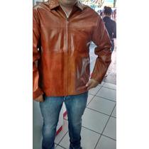Jaqueta Blusa Blazer Masculina Couro Legitimo Natural