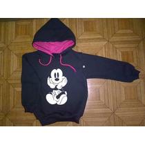 Blusa Mickey Moleton Infantil Com Toca Tam 6