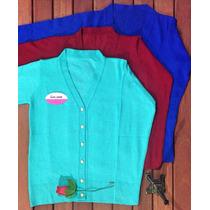 Cardigan Feminino - Tricot - Blusa Tricô Outono Inverno