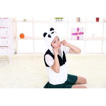 Colete, Casaco, Fantasia Urso Panda, 3 A 10 Anos Pro Entrega