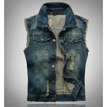 Colete Jeans Masculino Importado Scotch Soda Pronta Entrega