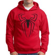 Moletom Spider Man Blusa Super Heroi Homem Aranha Casaco