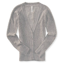 Aeropostale Womens Sheer Sweater Cardigan