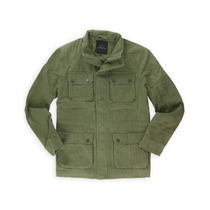 Marc Anthony Jacket Mens Clássico Militar