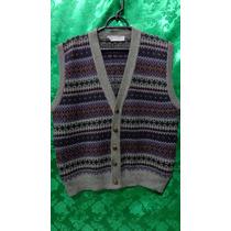 Colete Pullover De Lã Masculino Marca New England Tm/g