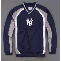 Blusa Corta Vento New York Yankees Mlb Pronta Entrega