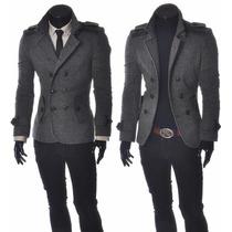 Jaqueta Trench Coat - New Fashion