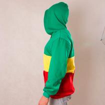 Blusa Moletom Do Reggae Rasta Roots Jamaica Style