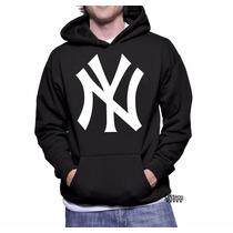 Blusa Moleton New York Yankees Ny Frete Gratis Brasil