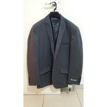 Blazer Masculino Chumbo Inc - Tam. G - Slim Fit - Premium