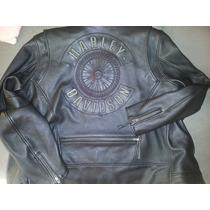 Harley Davidson Jaqueta De Couro Willie G Ed Limitada