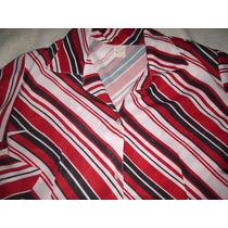 Camisa Feminina Crepe De Seda Tamanho M
