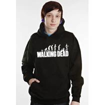 Blusa The Walking Dead Zombie Moletom Canguru - Promoção !!!