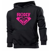 Blusa Moleton Roxy - Frete Grátis Promoção
