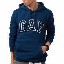 Blusa Moletom Gap Masculino Original Com Etiq. Usa - Clique+