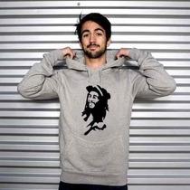 Blusa Bob Marley Moletom Canguru - Promoção Limitada!