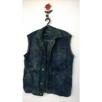 Colete Jeans Masculino Customizado