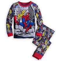 Disney Store Pijama Homem Aranha Produto Original E Licencia