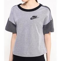 Camiseta Tricot Moletom Blusa Nike Feminino Original !!!