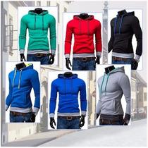 Jaqueta,moleton.blusão,casaco,slim,importado Promoção