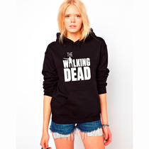 Blusa The Walking Dead Rick Grimes Moletom Canguru!!