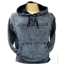 Blusa Moletom Masculina John John Jj03 Chumbo