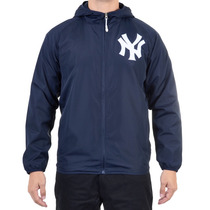 Jaqueta Masculina New Era Windbreack New York Yankees Marinh
