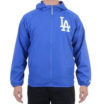Jaqueta Masculina New Era Windbreack Los Angeles Dodgers Azu