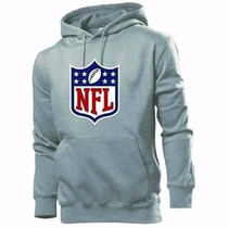 Blusa Moletom Nfl National Football League Capuz