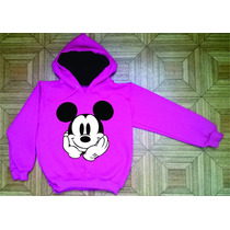 Blusa Mickey Moleton Infantil Com Toca Tam 8