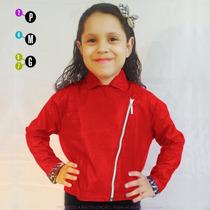 Jaqueta Feminina Infantil Várias Cores Couro Casaco Comprar