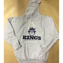 Blusa Frio Moleton Kings Macaco- Casaco C/ Capuz -promoção-