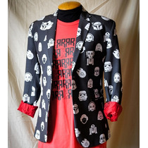 Blazer Star Wars Starwars Slim Fit