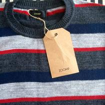 Blusa De Frio (lã) Masculina Zoomp. Suéter Listrado