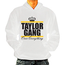 Casaco Hiphop Rap Swag - Wiz Khalifa Taylor Gang - Com Bolso