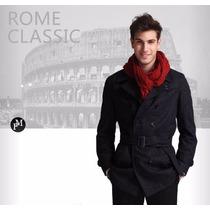 Sobretudo Importado P- Masculino Elegante E Sofisticado Lã