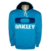 Blusa Moletom Oakley Azul Claro Ok100