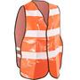 Colete Refletivo Sinalizador De Segurança Tipo Bluzão