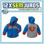 Superman   Jaqueta Grossa   Importada Eua   3 Anos   4 Anos