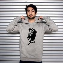 Blusa Bob Marley Moletom Canguru A Melhor!!